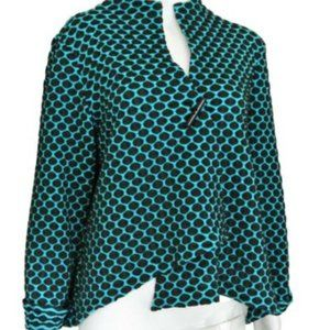 IC Collection Connie K Op Art Jacket L